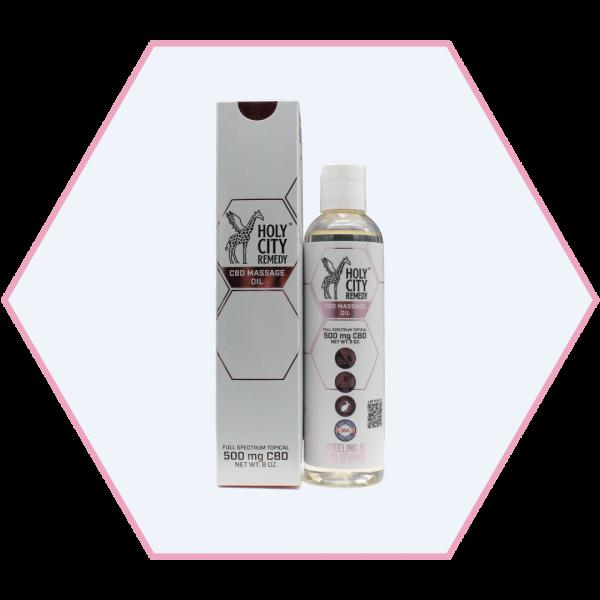 500mg Sensual Massage Oil
